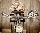 Vintage Bicycle and Flowers Mouse Pad