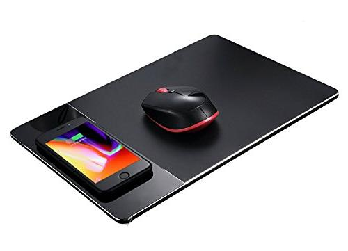 Wireless Mouse Pad Charger,KPTEC 2 in 1 Qi-Certified Mouse P