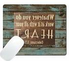 Wknoon Gaming Mouse Pad Christian Bible Verse Scripture Insp