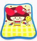 Yellow Happy Girl Colorful Comfort Wrist Rest Mouse Pad Spon