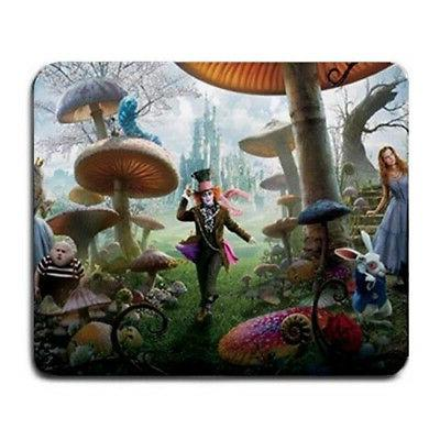 alice in wonderland large mousepad mouse pad