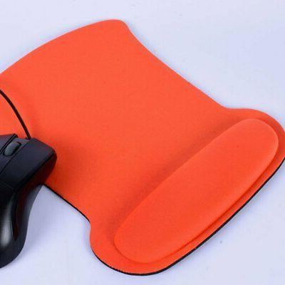Anti-Slip Gel Mouse Pads Mousepad Rest Wrist Comfort Support Laptop