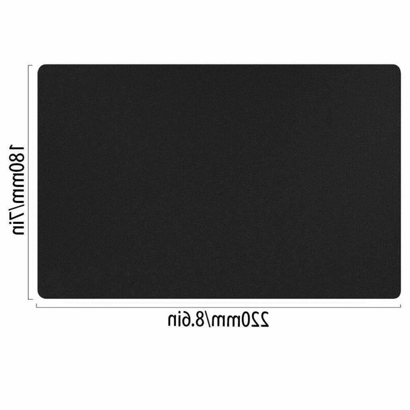 Black Standart Small Mouse Pad Mat Home Use