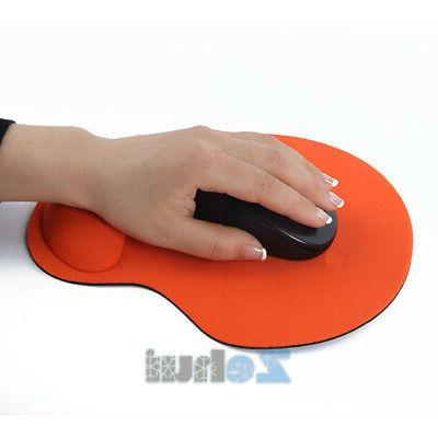 Comfort Mouse Gel With Wrist Rest Support PC Laptop