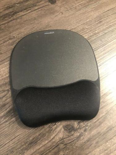 crystal gel mouse pad with wrist rest