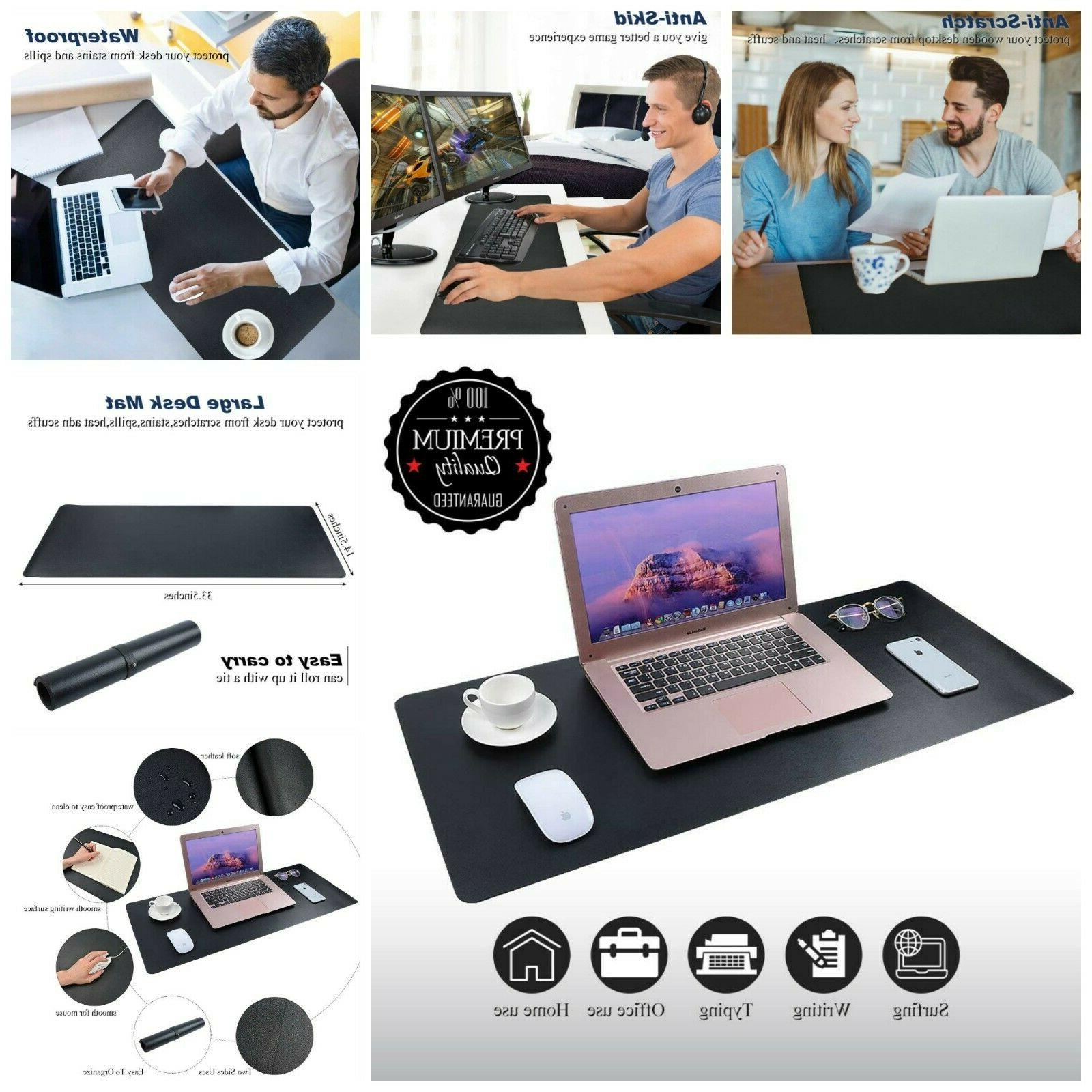 Desk Pad Blotters Mouse Pad Protector Multifunctional Waterp