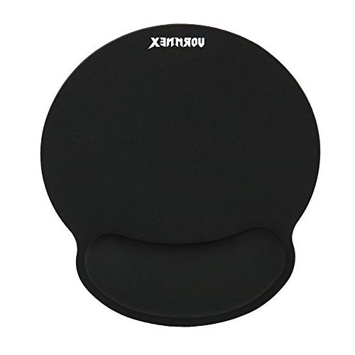 Ergonomic Memory Foam Mouse Pad Rest Lightweight for Mouse, Relief, at Home Work