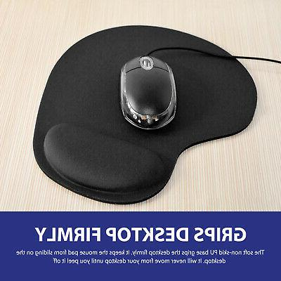 Ergonomic Non-Slip Pad Mat With Support for Computer PC