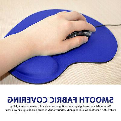 Ergonomic Mouse Pad Mat Wrist Support Computer Laptop PC