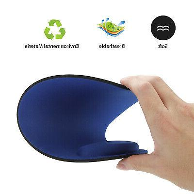 Ergonomic Non-Slip Mat With Wrist Support for PC