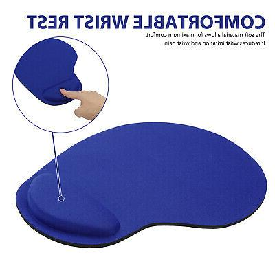 Ergonomic Non-Slip Mouse Pad Mat With Rest Support for Computer