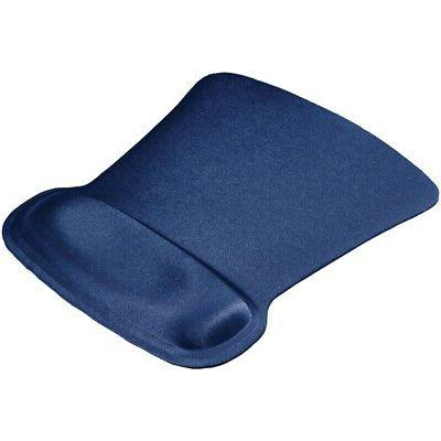 Ergoprene Gel Mousepad with wrist Rest - Blue