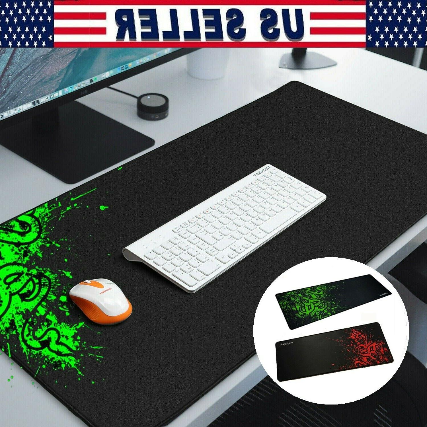 extended gaming mouse pad gamer computer large