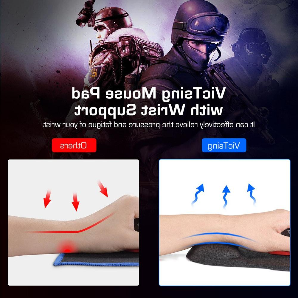 <font><b>VicTsing</b></font> <font><b>Mouse</b></font> <font><b>Pad</b></font> Mousepad Support Design Wrist Rest For Gaming <font><b>Mouse</b></font> For
