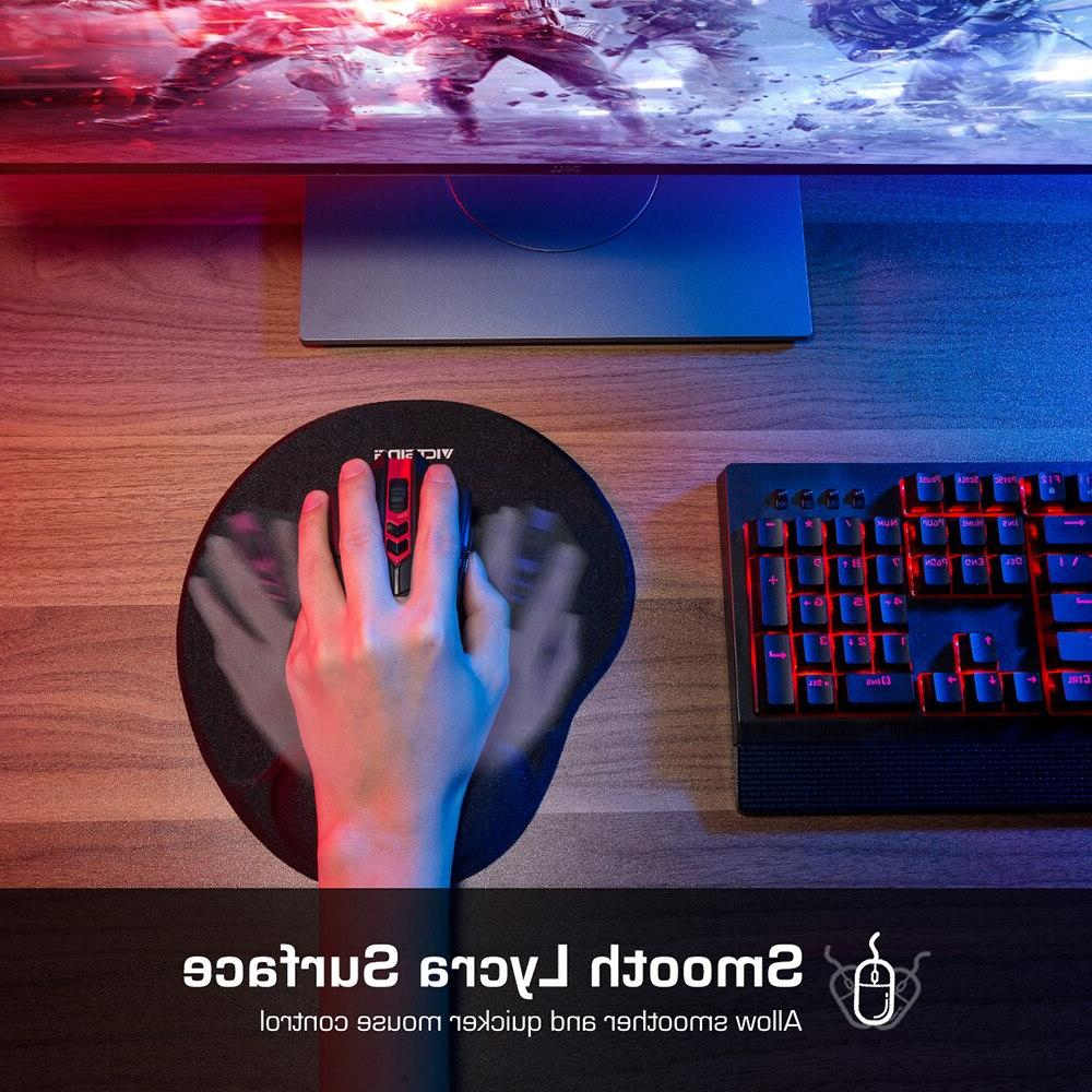 <font><b>VicTsing</b></font> Mousepad With Support Design Rest Gamer Gaming Mi <font><b>Pad</b></font>
