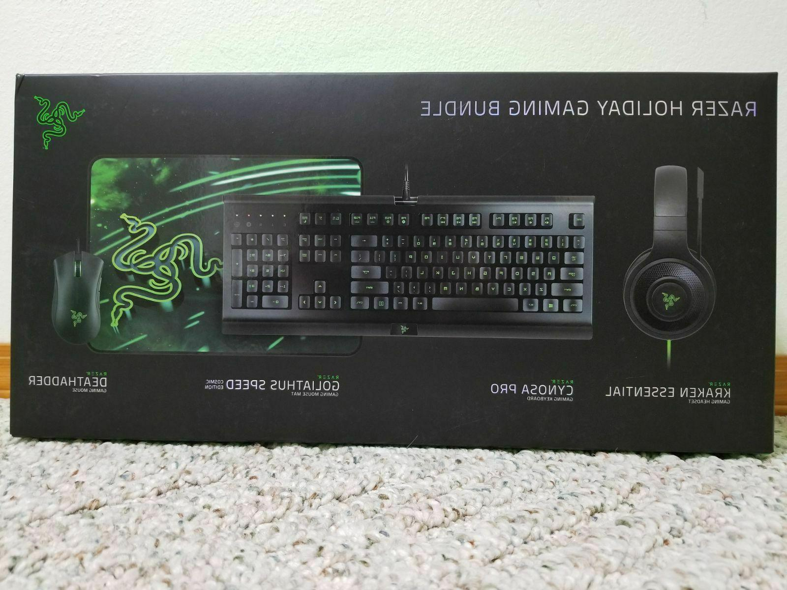 gaming cynosa keyboard deathadder mouse