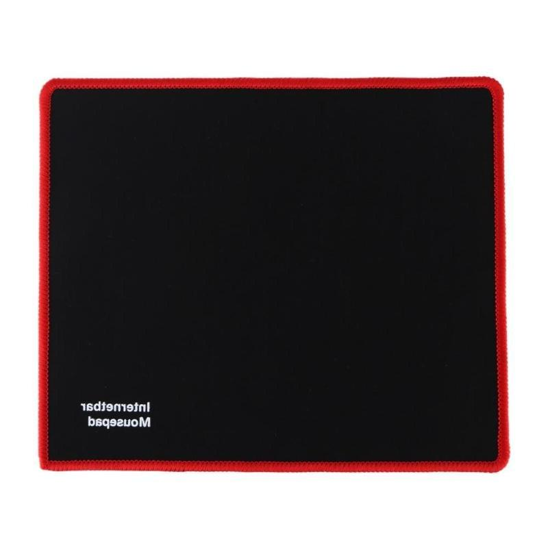 Hot 25*21CM Black Rubber Gaming <font><b>Pad</b></font> for PC Laptop Computer