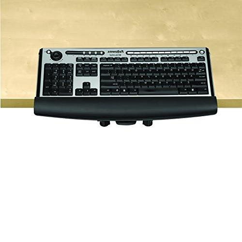 Fellowes I-Spire Series Edge Keyboard Lift with Installation,