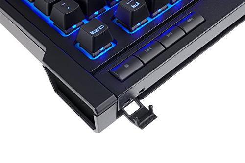 CORSAIR K63 Keyboard Gaming Combo Game on Backlit Blue MX Quiet & Linear