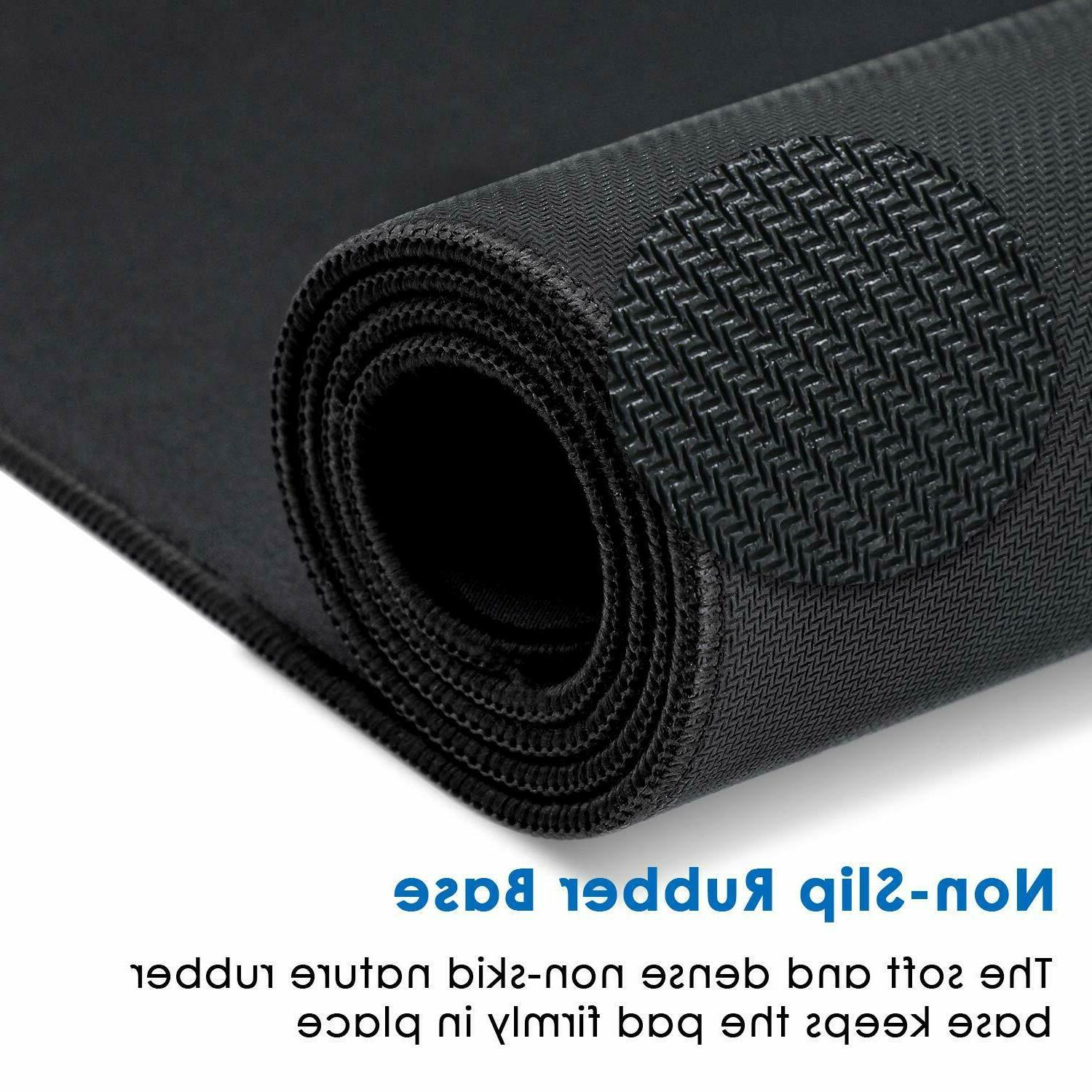 Large Extended Pad Mat, Stitched Non-Slip
