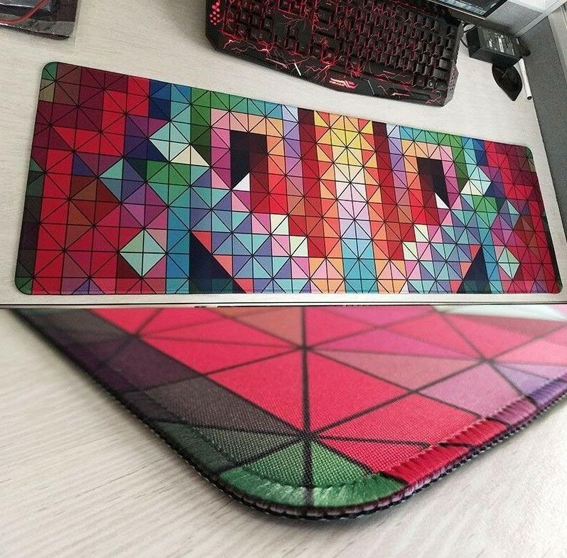 Large Mat Gaming Colorful Office Anti