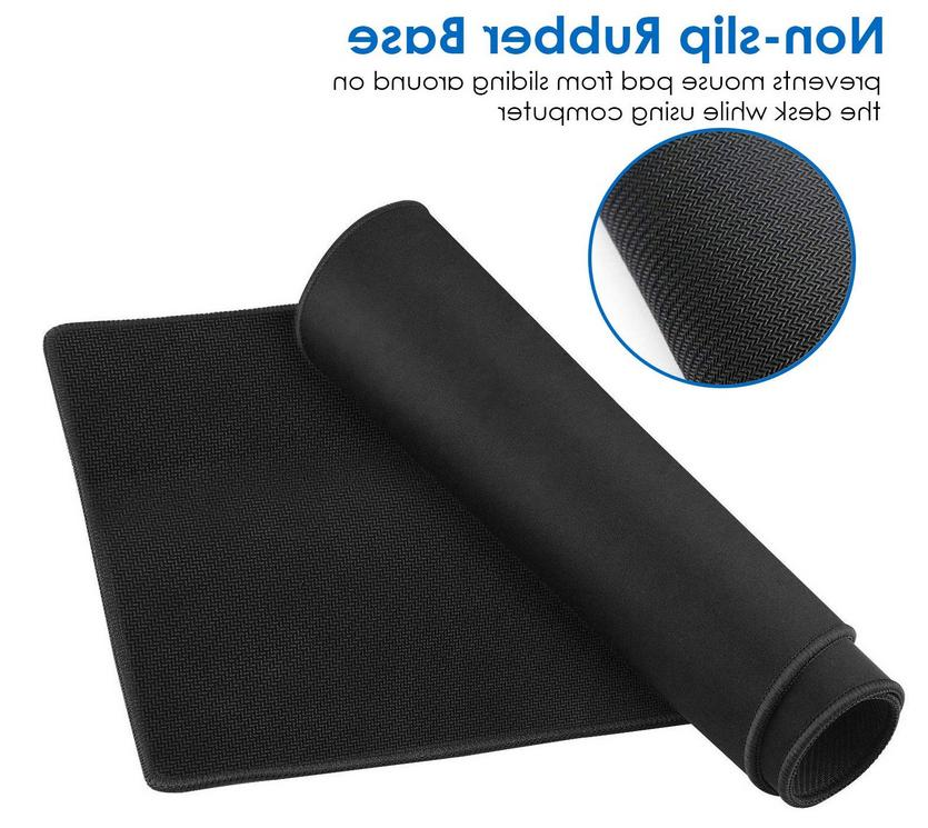 Large New Mouse Pad with Stitched Edges waterproof