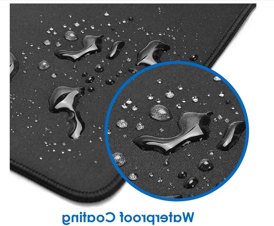 Large Extended Mouse Pad Edges waterproof non slip