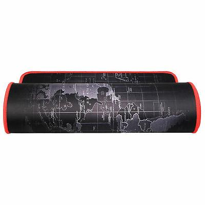 Large XL Size Anti-Slip World Mouse Pad For