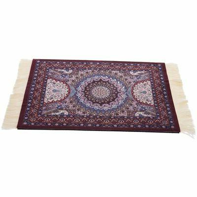 SODIAL Magical Persian Mouse Pad Rug Bohemia Carpet Purple C