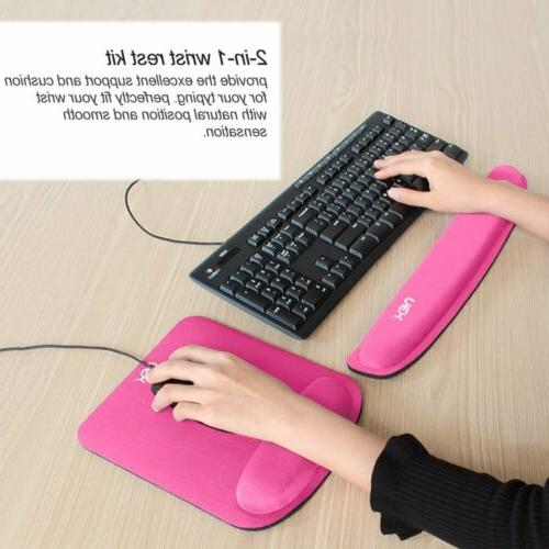 Memory Keyboard Rest Pad Wrist Support