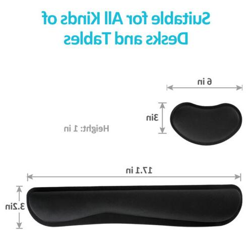 Keyboard Wrist Rest Memory Gel Wrist Pad For PC US