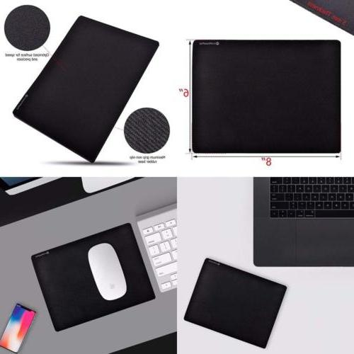 """Micro Mouse Pad Small 8""""x Rubber Base Laptop..."""