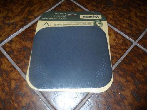 mouse pad 8x9 black new