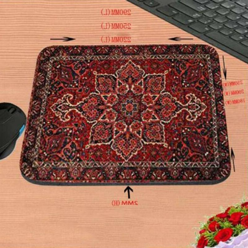 mouse pad carpet mat rug retro style