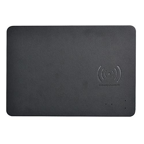 mouse pad mat qi wireless fast charger