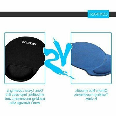VicTsing Soft Gel Wrist Support Mat For Computer PC