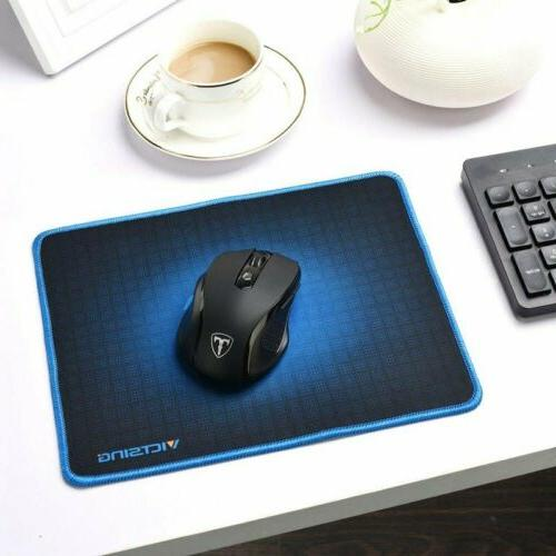 Victsing Mouse Pad Stitched Edge PC Laptop fr Computer Rubber