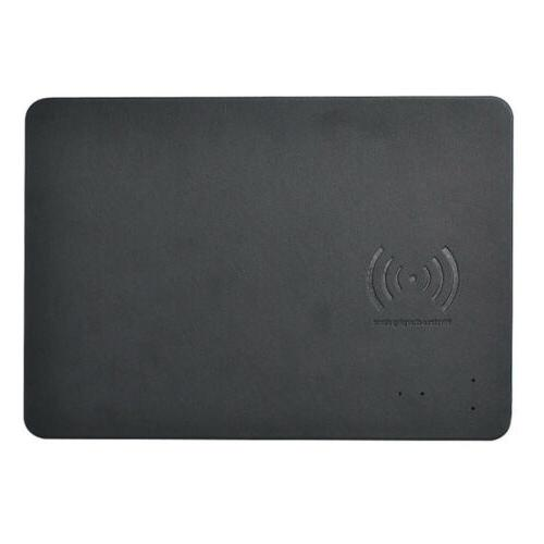 Mouse Pad Qi Wireless Leather Cordless Charging