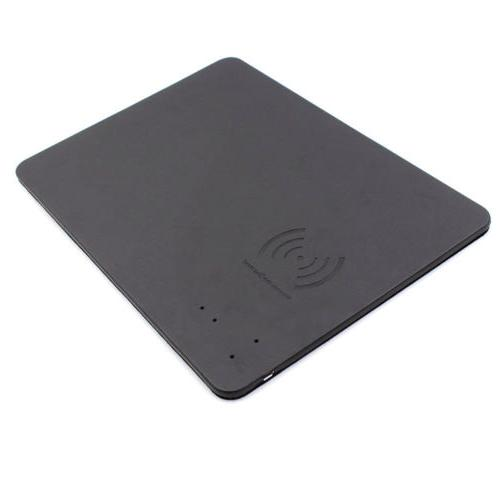 Mouse Pad w/ Qi Wireless Cordless Charging