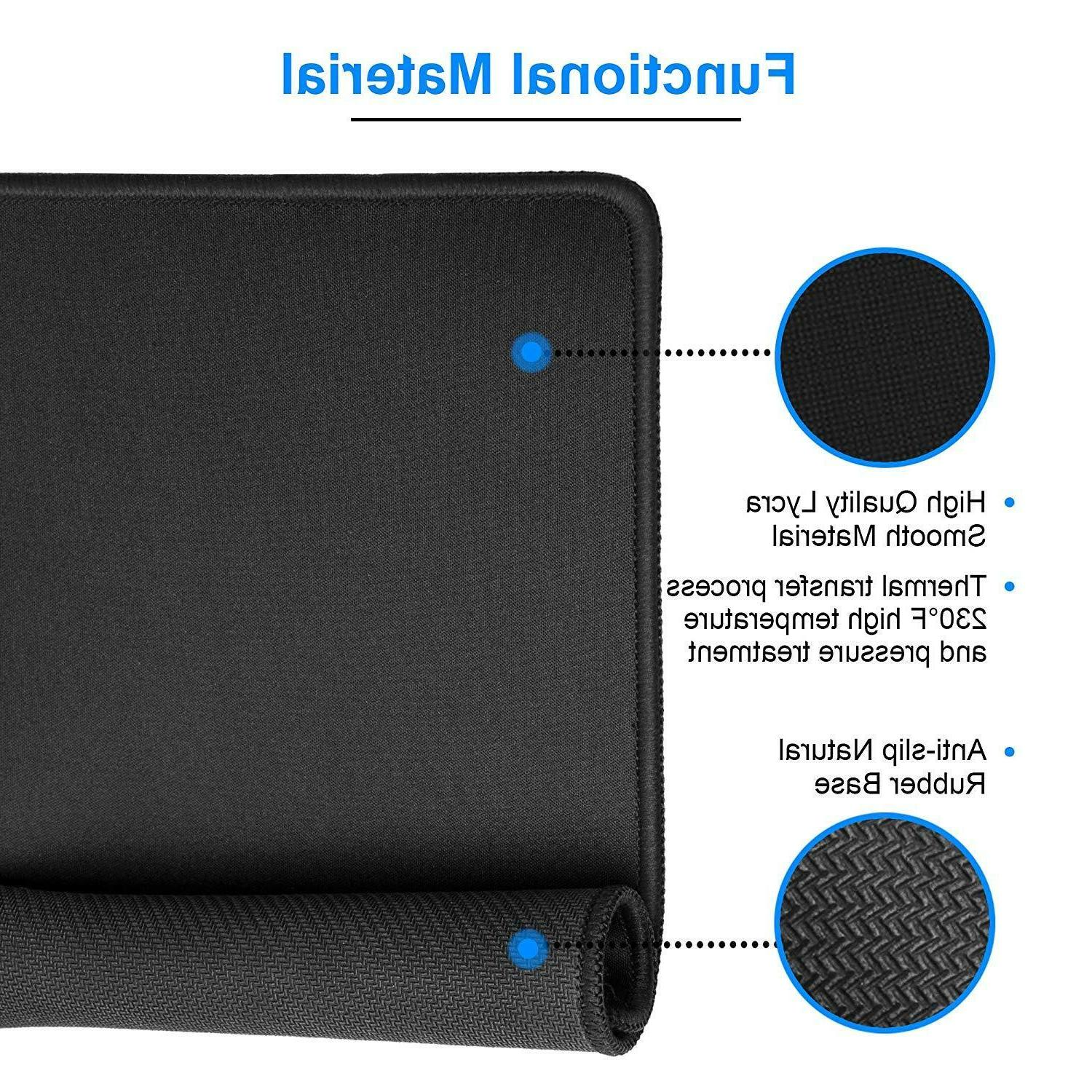 Mouse Pads With Non-Slip Base, & Bulk