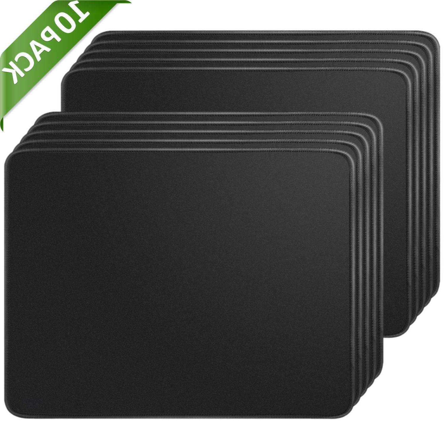mouse pads 10 pack with non slip