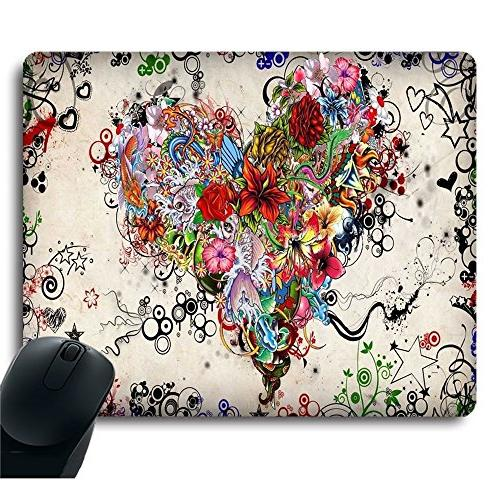 mouse pads gorgeous flower tattoo