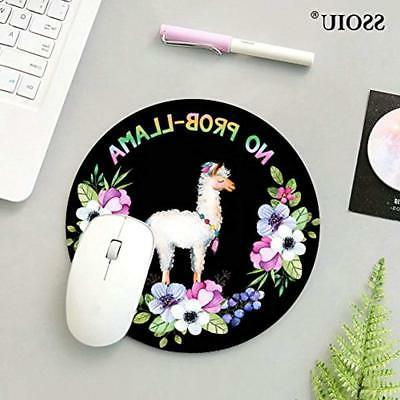 Mouse No Prob-Lama Mousepad, Llama Animal