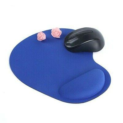 Mouse Silicone Desk Keyboard Rest Support Mat Laptop