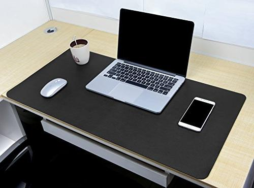 "Multifunctional Office 31.5"" x YSAGi Ultra Thin Waterproof PU Leather Pad, Use Desk for"