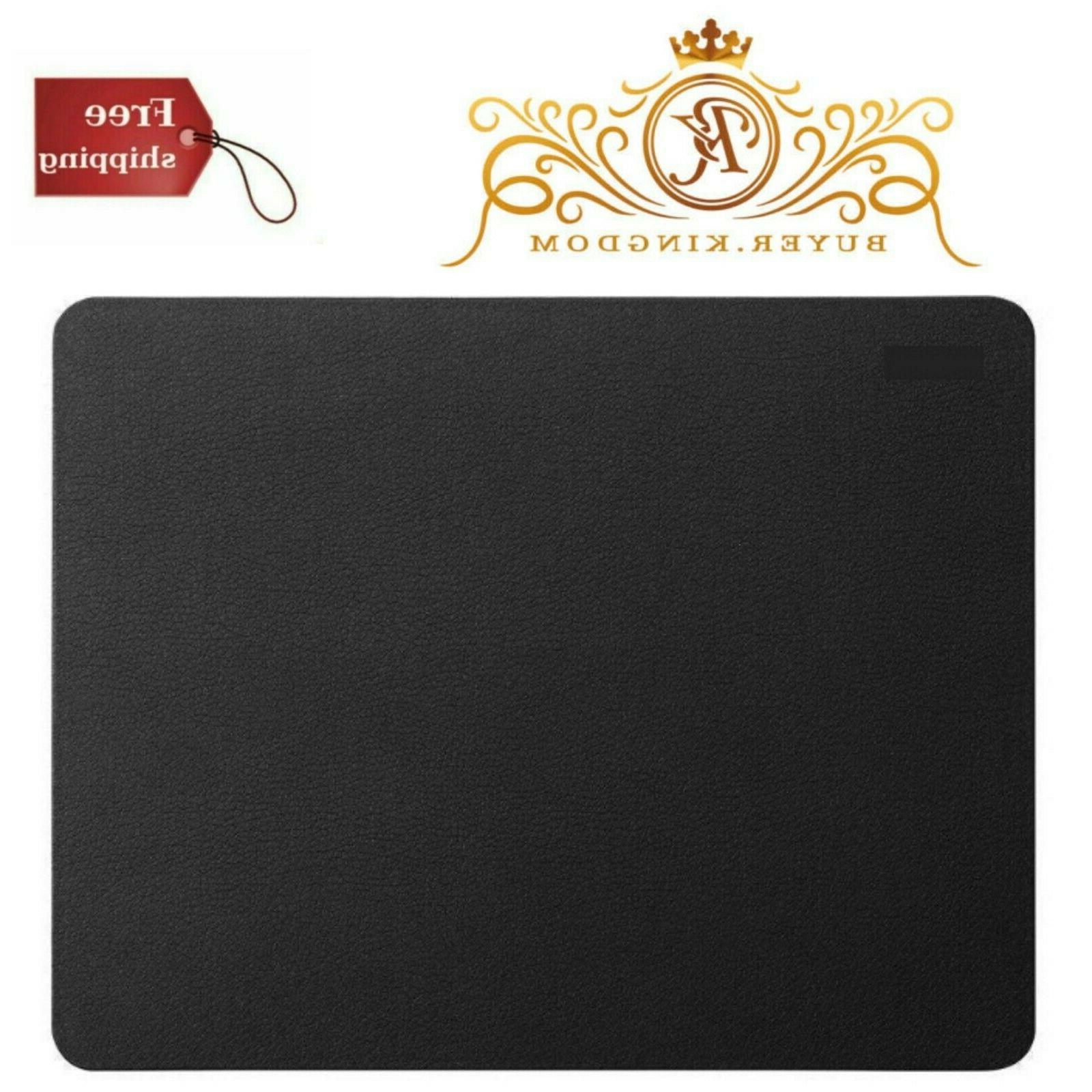 New Version Leather Gaming Mouse Pad Waterproof Coating Non