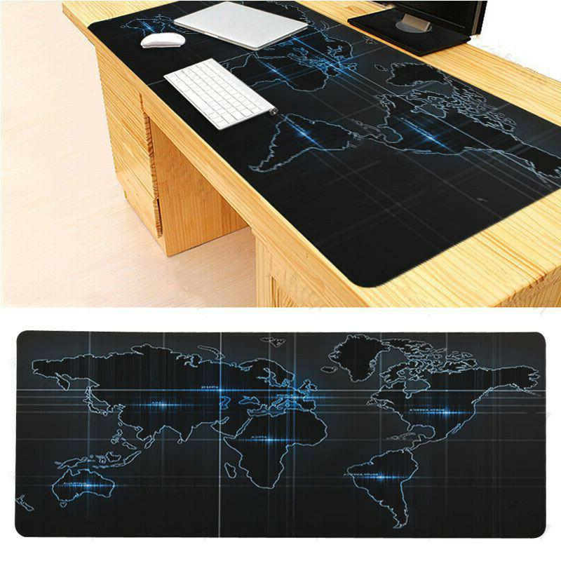 Old World Map Mouse Mouse Mat Pad Desk