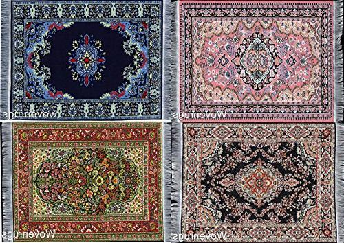 oriental woven rug mouse pads