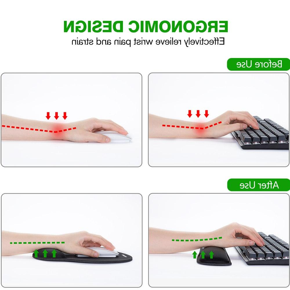 Original <font><b>VicTsing</b></font> And Wrist With Support Memory Foam Set PC Computer