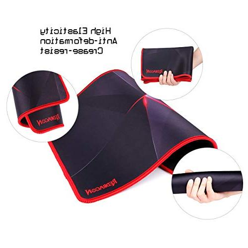 Redragon with Mouse Mat, Base Mousepad for Computer PC, x10 x0.11